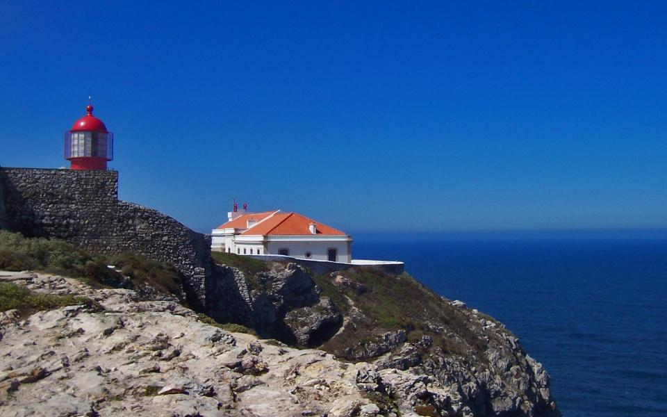 Costa de algarve y p n de doana azul marino viajes - Cabo san vicente portugal ...